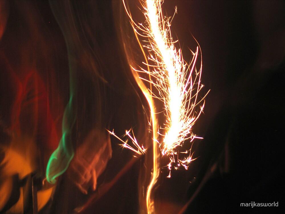 Sparkler by marijkasworld