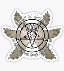 Light of Lucifer Sticker