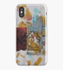 Brown eye iPhone Case/Skin