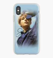 V BTS with Signature iPhone Case