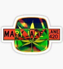 Mary Jane - 420 Sticker