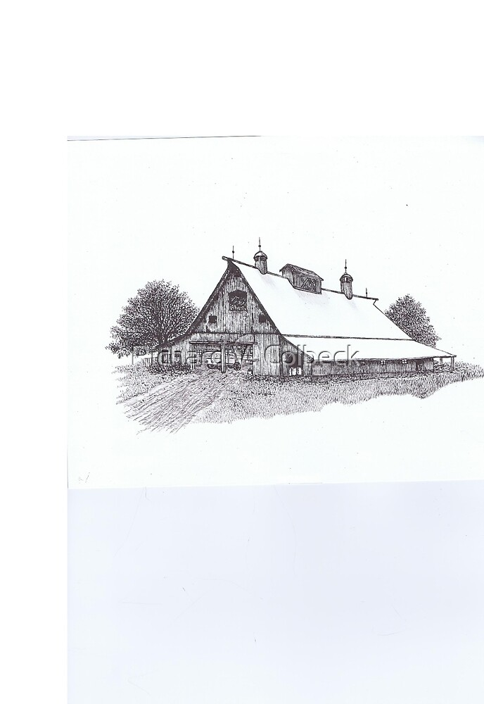 61 - Kentucky Barn by Richard V. Colbeck
