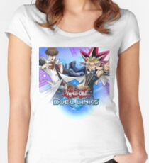 Yu-Gi-Oh! Duel Links Women's Fitted Scoop T-Shirt