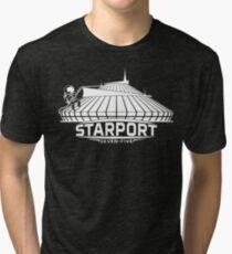 Mt. Space (WHITE) Tri-blend T-Shirt