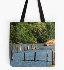 I Know There's A Story, Coos Bay, Oregon Tote Bag