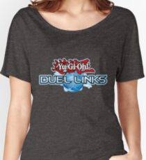 Yu-Gi-Oh! Duel Links logo Women's Relaxed Fit T-Shirt