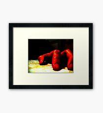 Dead Alone Framed Print