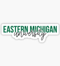 Eastern Michigan University - Style 13 Sticker