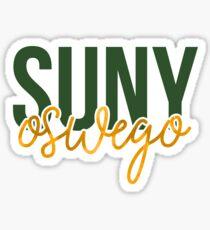 SUNY Oswego - Style 13 Sticker