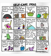 Self-Care Ideas Poster