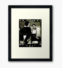 I've got you now from the CineManArt series Framed Print