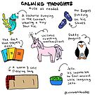 Calming Thoughts by Introvert Doodles