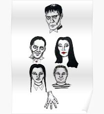 Oct 13 Addams Family  Poster