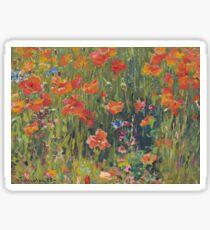 Poppies 1888  Sticker