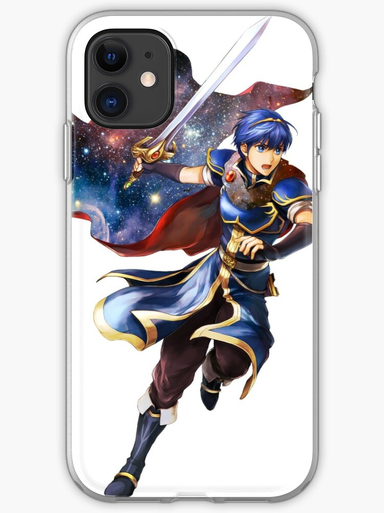 Marth Fire Emblem Space Aesthetic Iphone Case Cover By