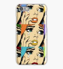 retro collection from romance comic iPhone Case/Skin