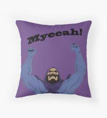 All Hail Skeletor Throw Pillow