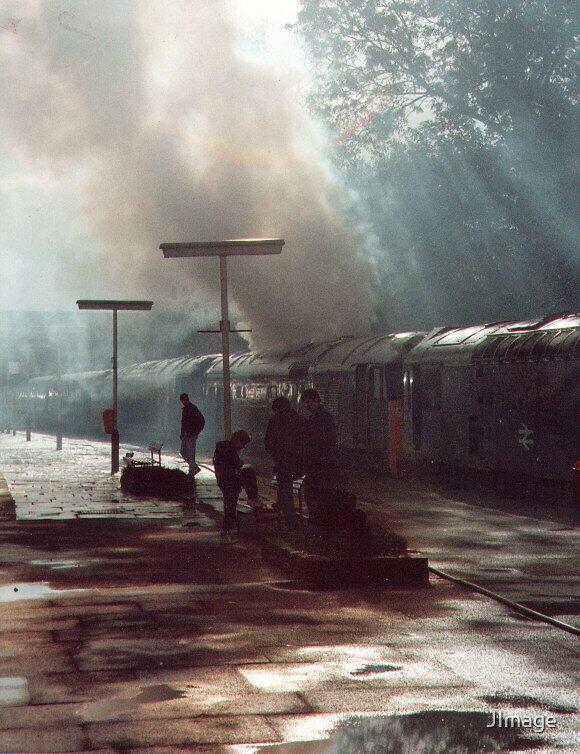 Smokey Train by JImage