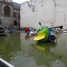 Fontaine des Automates II by John Harrison