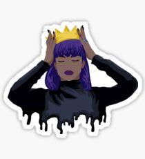 Purple Queen Sticker