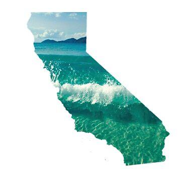 Kalifornien Wellen von divinefemme