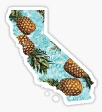 California Pineapples Sticker