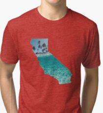 California Tropical Tri-blend T-Shirt