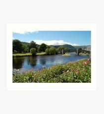 Llanrwst Bridge 3 Art Print