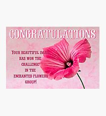 Banner for Enchanted Flowers Group  Photographic Print