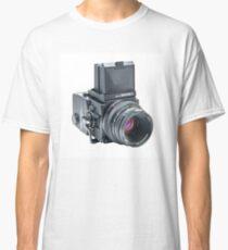 Zenza Bronica ETRSi Medium Format Film Camera & 75mm Lens Vintage / Retro / Analogue photography / Old School Pro! Classic T-Shirt