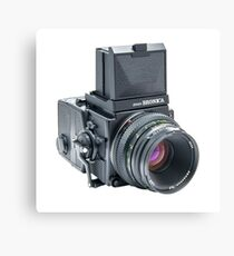 Zenza Bronica ETRSi Medium Format Film Camera & 75mm Lens Vintage / Retro / Analogue photography / Old School Pro! Canvas Print