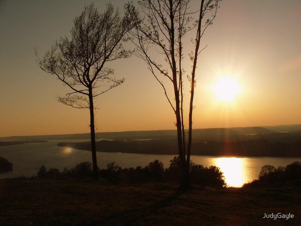 Tenn. River Sunset by Judy Gayle Waller