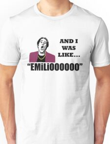 A Night At The Roxbury I Was Like Emilio Movie SNL Unisex T-Shirt