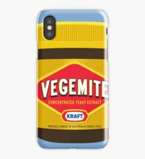 vegemite jar iPhone Case/Skin