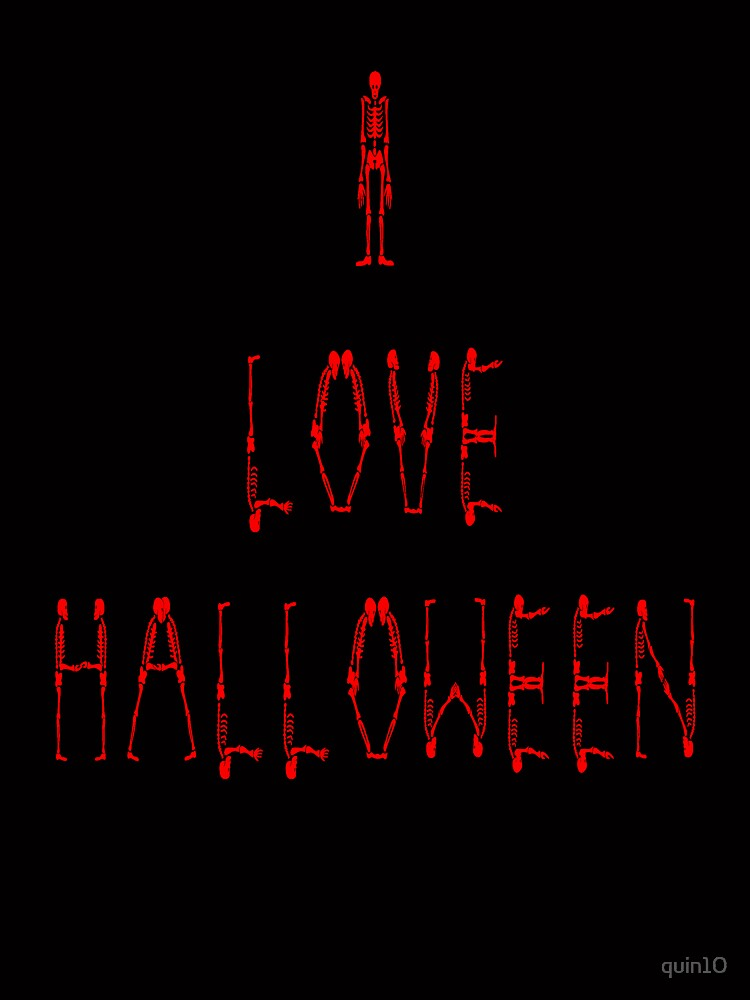 I Love Halloween by quin10