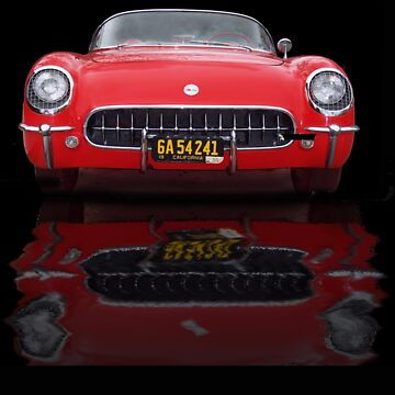 Reflected Vette by KevinAllen