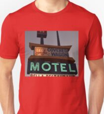 Covered Wagon Motel Unisex T-Shirt