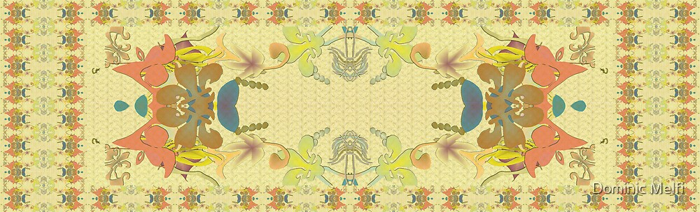 FASHION SCARVES SERIES PAISLEY 2007 FASHION COLORS 5600x3400 by Dominic Melfi