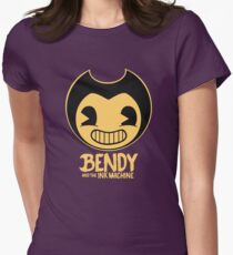 Bendy and the Ink Machine Womens Fitted T-Shirt