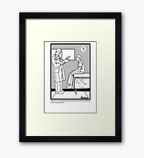 Dr. Office Framed Print