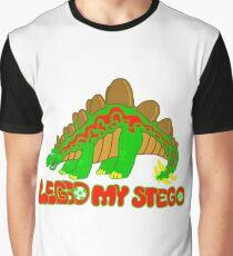 Leggo My Stegosaurus Dinosaur! Graphic T-Shirt