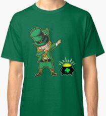 Dabechaun Funny Leprechaun Dabbing St Patrick 2017 Tee Classic T-Shirt