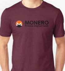 Monero Private Digital Cash  T-Shirt