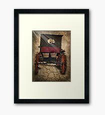 On The Road Home Framed Print