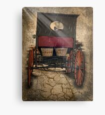 On The Road Home Metal Print