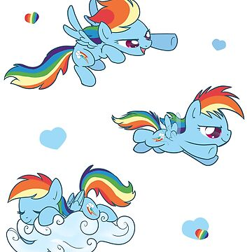 A Range of Rainbow Dash by impydoo