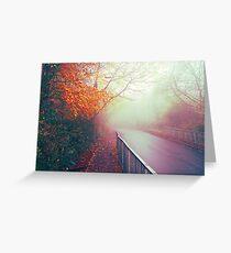 Misty Days Greeting Card