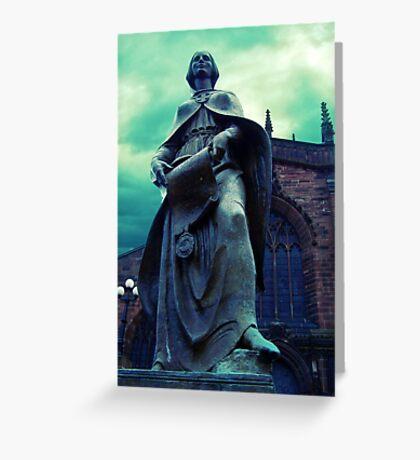 Lady Wulfruna Greeting Card