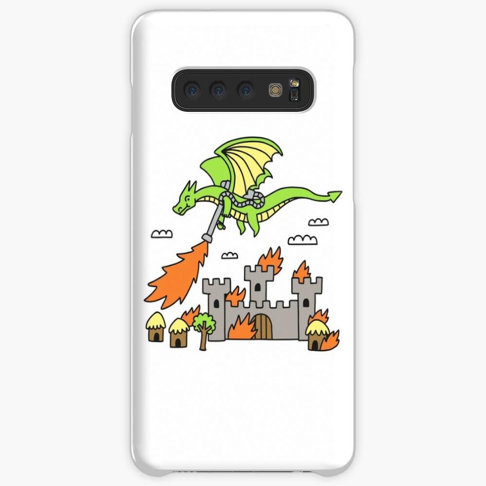 Dragon With A Flamethrower Case & Skin for Samsung Galaxy