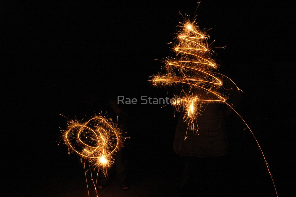 christmas sparkles by Rae Stanton